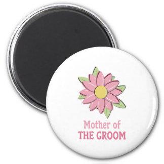 Mãe cor-de-rosa da flor do noivo ima