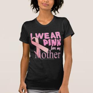 mãe da consciência do cancro da mama camiseta