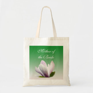 mãe da flor da magnólia do primavera da noiva sacola tote budget