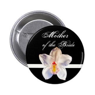 Mãe da noiva que Wedding o crachá da identificação Bóton Redondo 5.08cm