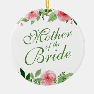 Mãe da noiva que Wedding o ornamento de |