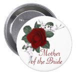 Mãe da rosa vermelha do KRW da noiva que Wedding o Boton