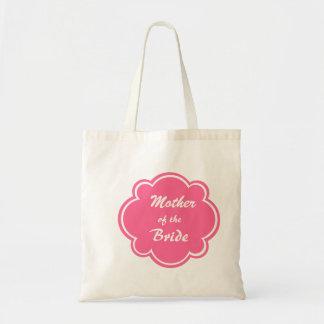 Mãe da sacola do casamento da noiva sacola tote budget