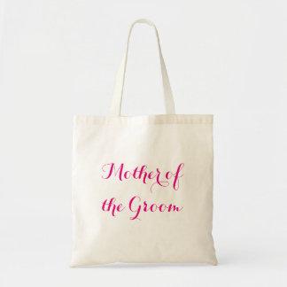 Mãe da sacola do noivo bolsa tote