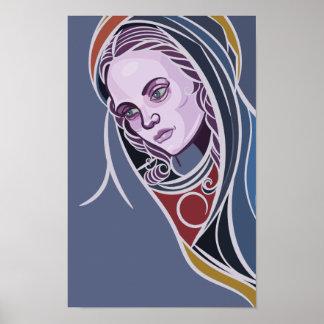 Mãe de Mary do poster de Jesus