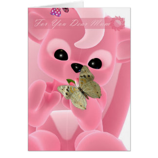 Mãe, dia das mães, mamã muito amada cartão comemorativo