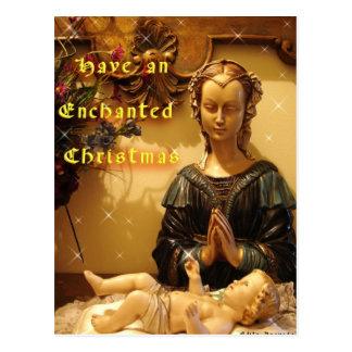 Mãe do azevinho e cartão do filho