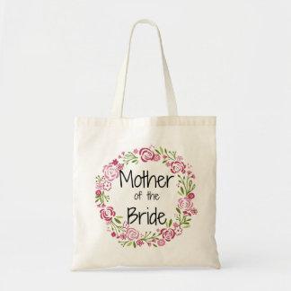 Mãe do bolsa floral bonito da noiva