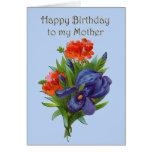 Mãe do feliz aniversario cartões