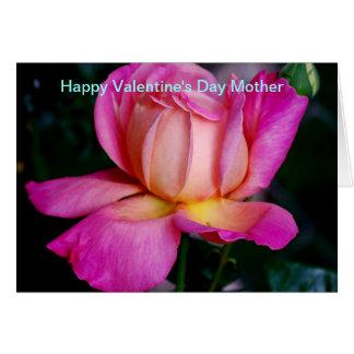 Mãe do feliz dia dos namorados cartão comemorativo
