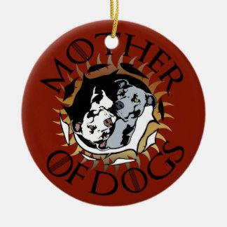Mãe do ornamento dos cães