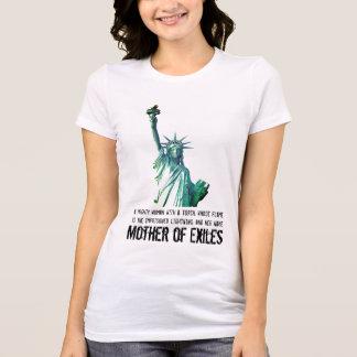 Mãe dos exilados camiseta