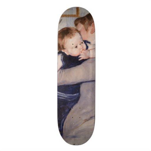 Mãe e criança por Mary Cassatt Skates