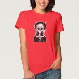 Mãe santamente estrangeira camiseta