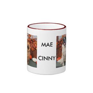 Mae - St Bernard e Cinny - comida de comida Photo- Caneca