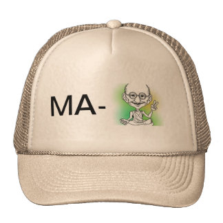 Mães-Ghandi' do meu chapéu ' Boné
