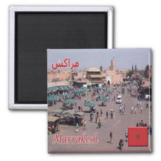 MÃES - Marrocos - C4marraquexe Ímã Quadrado