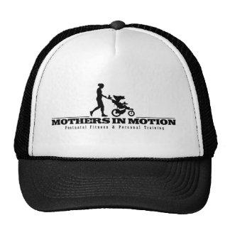 Mães no chapéu do camionista do logotipo do movime boné