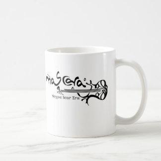 Mag branco caneca de café