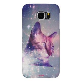 Magali a capa de telefone de Samsung S6 do gato do