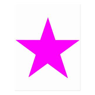 Magenta da estrela os presentes de Zazzle do MUSEU Cartões Postais