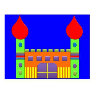Mágica Castell da fantasia do bombom Cartão Postal