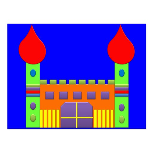 Mágica Castell da fantasia do bombom Cartoes Postais