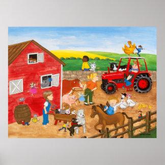 Mágica da fazenda poster