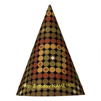 Mágica do diamante da polca do chapéu do partido