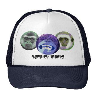 Mágica do macaco boné