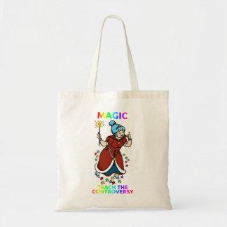 """""""Mágica: Ensine totebag da controvérsia"""" Sacola Tote Budget"""