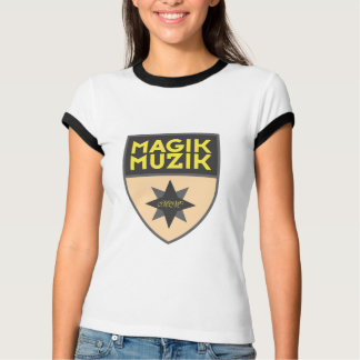 """Magik Muzik """"creme """" Camiseta"""