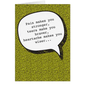 Mágoa e cartão engraçado da vodca