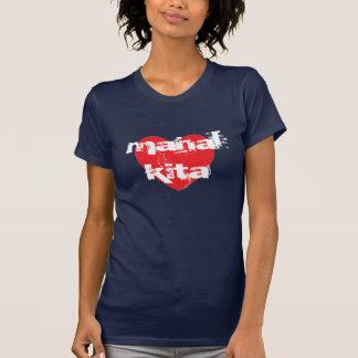 Mahal Kita eu te amo no Tagalog Camiseta