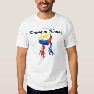 Mahal Ko Ninong em Ninang personaliza o T Camisetas