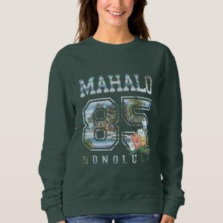 Mahalo Honolulu 85, mulheres das flores Moletom