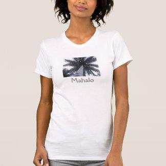 Mahalo (palmeira) tshirts