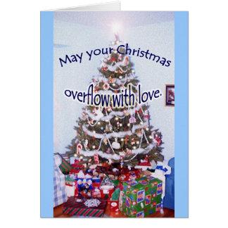 """""""Maio seu Natal…"""" cartão especial do amigo"""