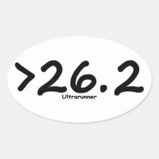 Maior de 26,2 4) etiquetas do Ultrarunner (