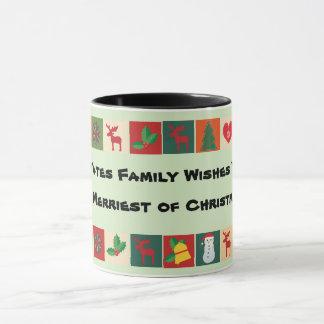 mais alegre da caneca de Christmases