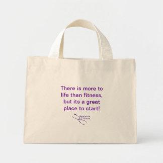Mais ao saco da malhação da vida bolsa tote mini