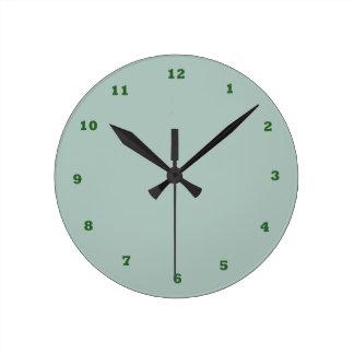 MAIS BAIXO PREÇO esverdeado de SeaFOAM KOOLshade Relógio De Parede