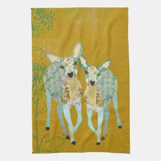 Mais cara toalha dourada dos cervos