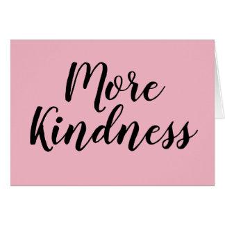 Mais cartão da bondade