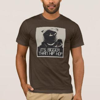 mais grande do que o hip-hop - miúdo camiseta