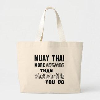 Mais impressionantes tailandeses de Muay do que o Sacola Tote Jumbo