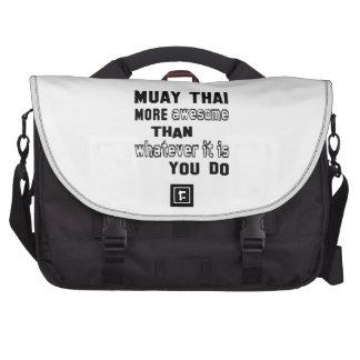 Mais impressionantes tailandeses de Muay do que o Bolsas Para Notebook