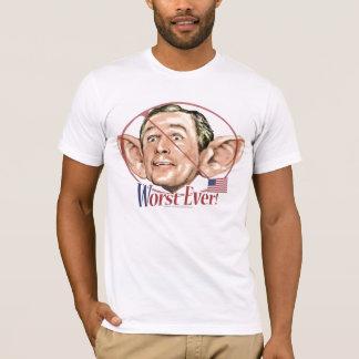 Mais mau nunca camiseta