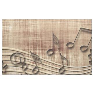 Mais música tecido