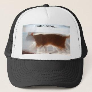 Mais rapidamente… mais rapidamente chapéu boné